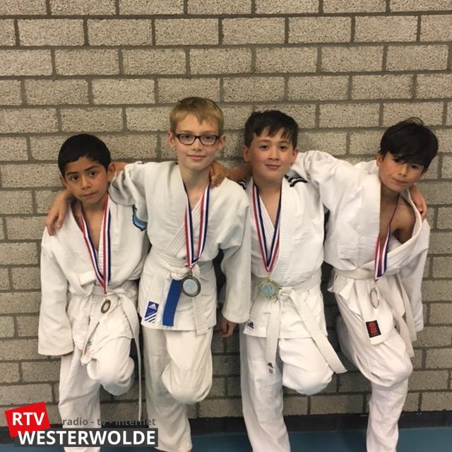 Goud, zilver en brons voor judoka's Sakaee