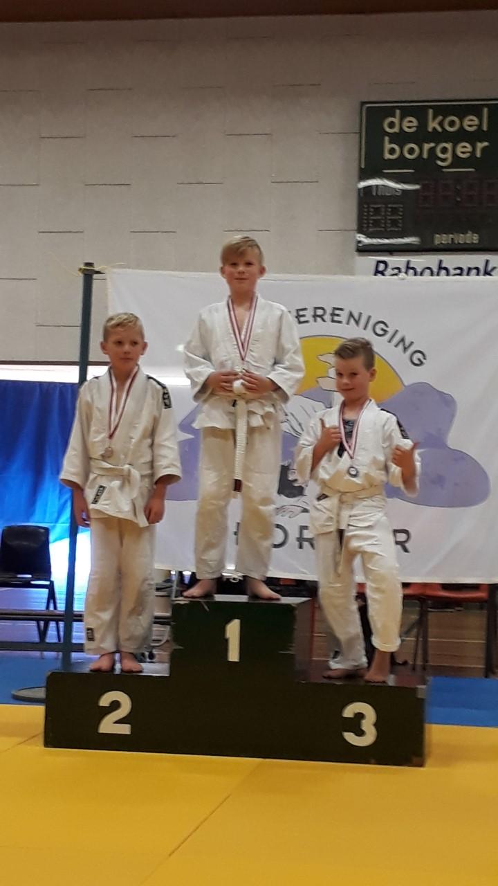 Judoka's van judovereniging Sakaee Bellingwolde wederom in de prijzen