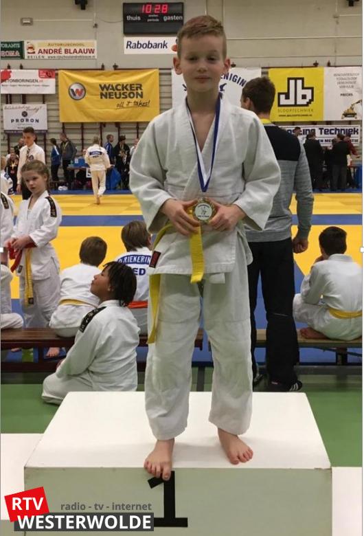 Goud, Zilver en Brons voor judoka's judovereniging Sakaee tijdens Lentetoernooi