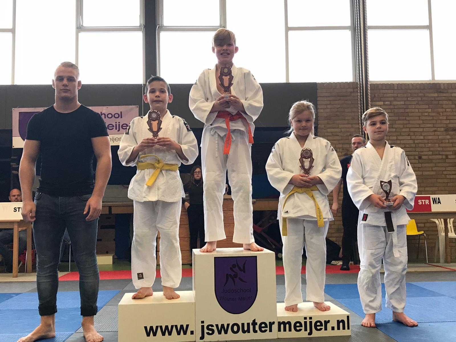 Judoka's Sakaee in de prijzen tijdens regiotoernooi Scheemda