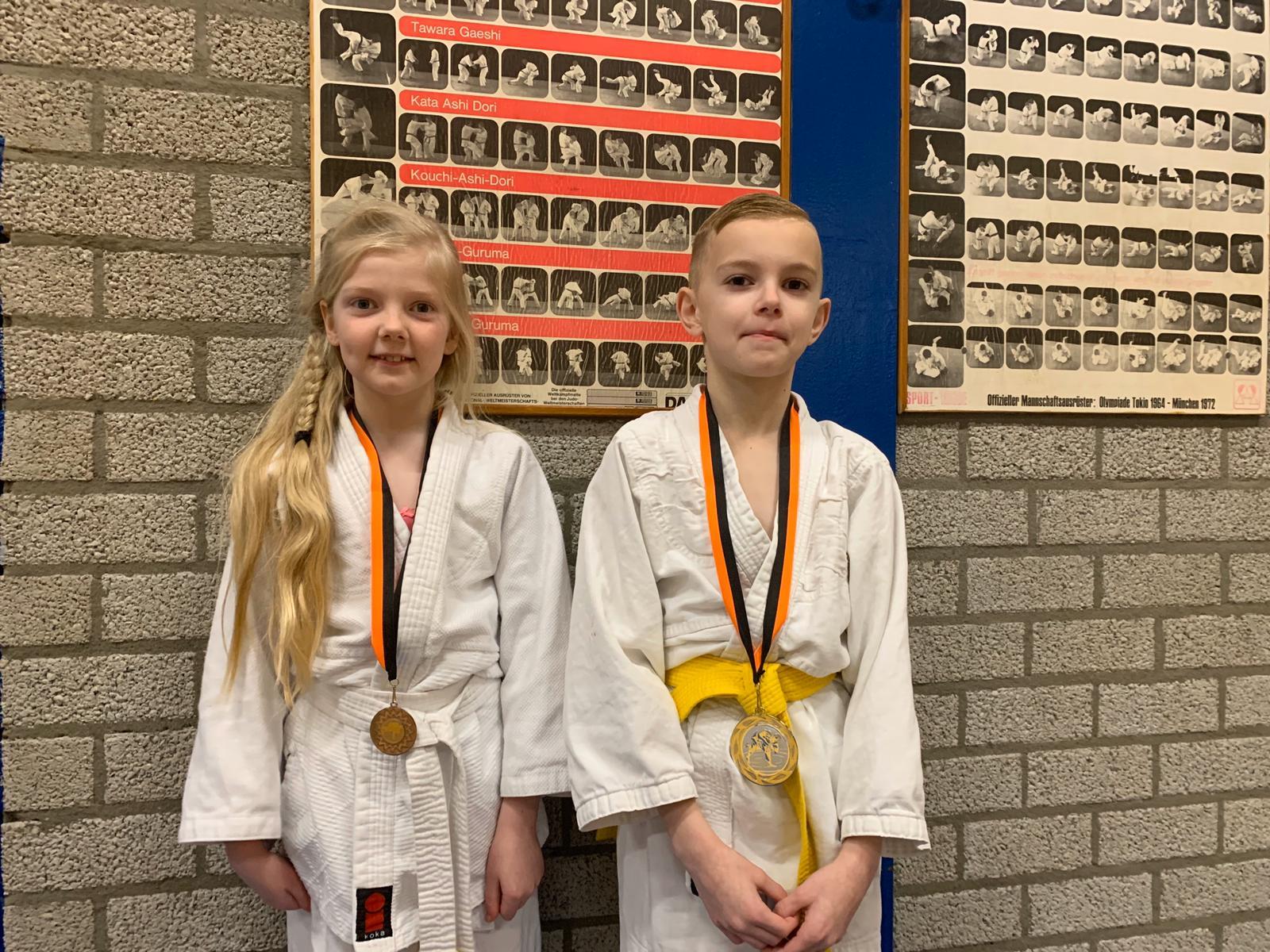 Judoka's Sakaee rijkelijk in de prijzen tijdens regiotoernooi Oude Pekela